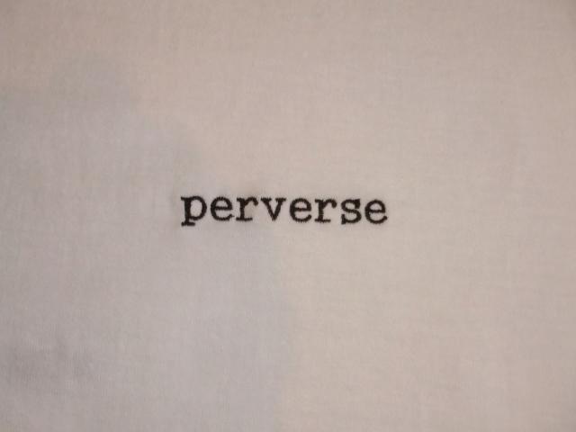 NORULE Perverse SS T White2