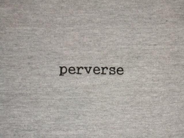 NORULE Perverse SS T Gray2