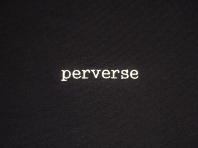 NORULE Perverse SS T Black2