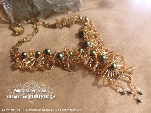 MIYABI ゴールド ネックレス