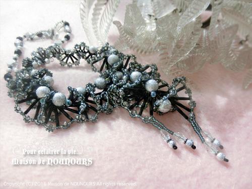 MIYABI ブラック ネックレス