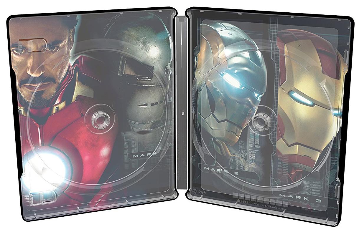 アイアンマン 4K Ultra HD UHDスチールブック