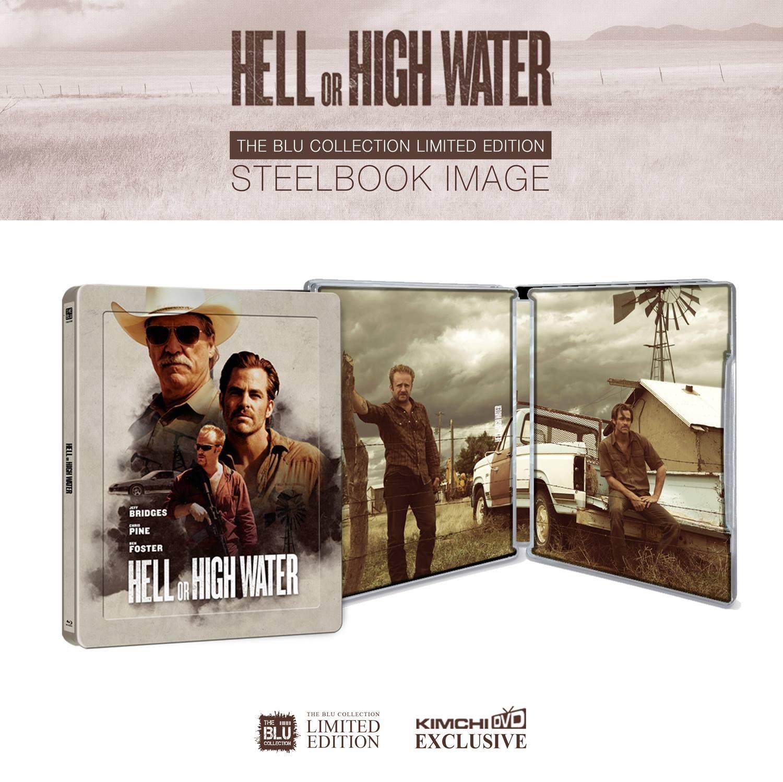 最後の追跡 スチールブック Hell or High Water steelbook