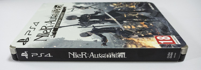 ニーア オートマタ NieR Automata steelbook フランス リミテッドエディション スチールブック