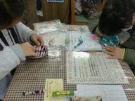 小学生の手芸教室4月1回目