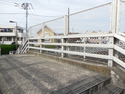 東急東横線の稲荷橋@東京都目黒区g