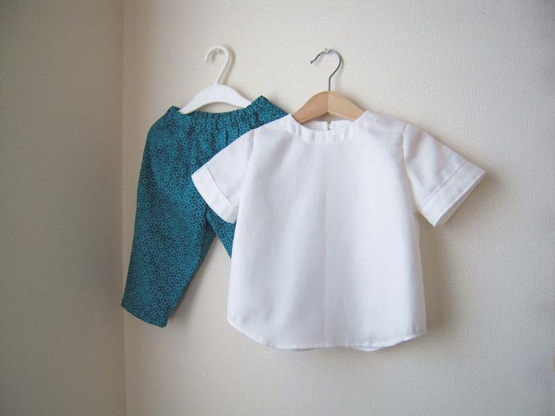 手作りベビー服
