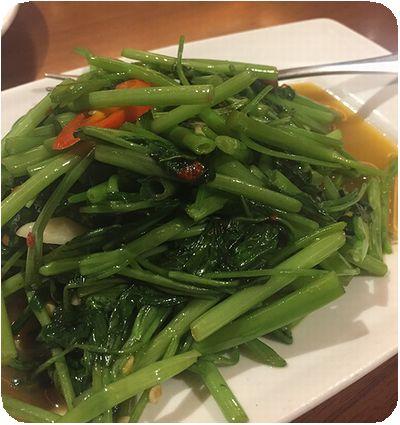 泰美泰國原始料理空芯菜
