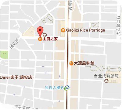 主廚之家地図