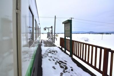 秘境駅南下徳富駅