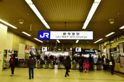 JR新今宮駅西口
