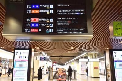 近鉄京都駅にせんとくん