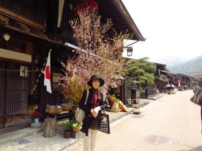 奈良井宿にて記念ショット