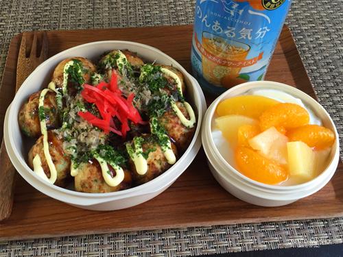 野菜たこ焼き弁当
