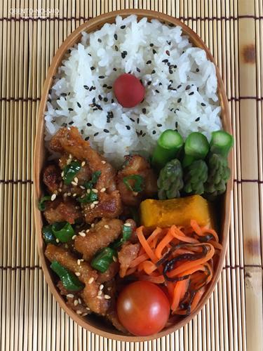 豚の油なし胡麻味噌焼き弁当02