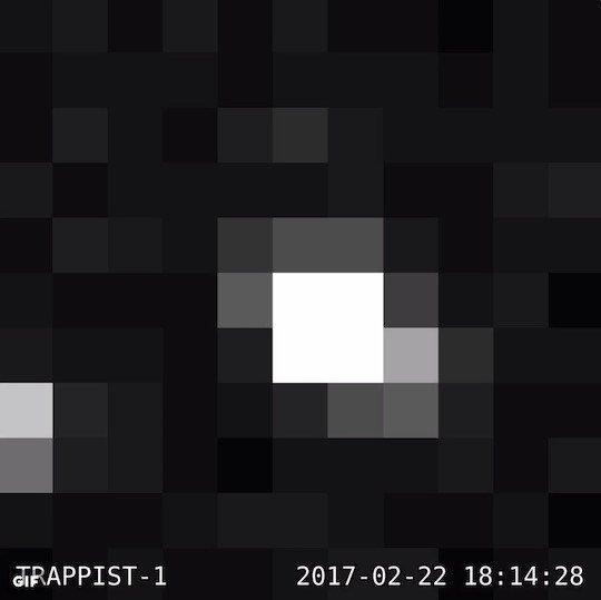 【銀河】先月、NASAが公表した「7つの地球型惑星 TRAPPIST-1」の画像が初公開される