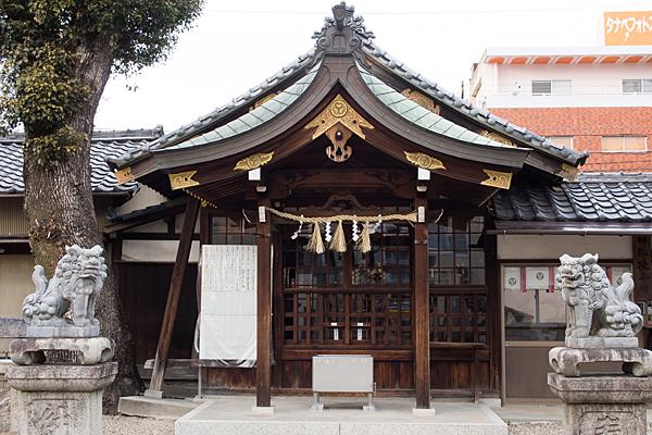 宗像神社拝殿