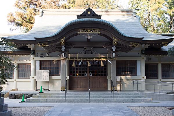 針名神社拝殿