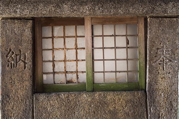 松山神社燭台
