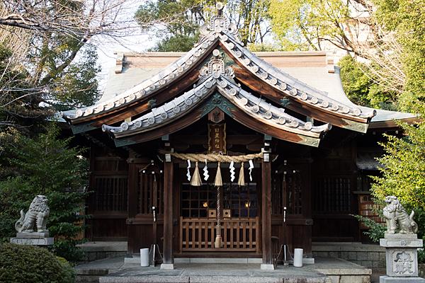 日置神社拝殿