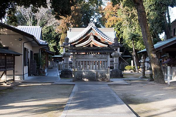 大井神社参道
