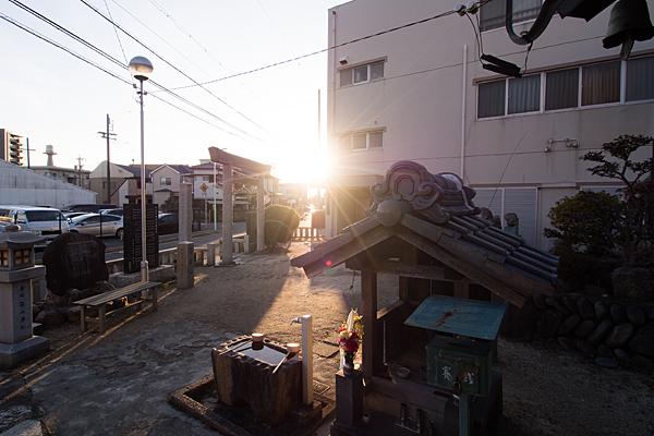 斎穂社から見る風景
