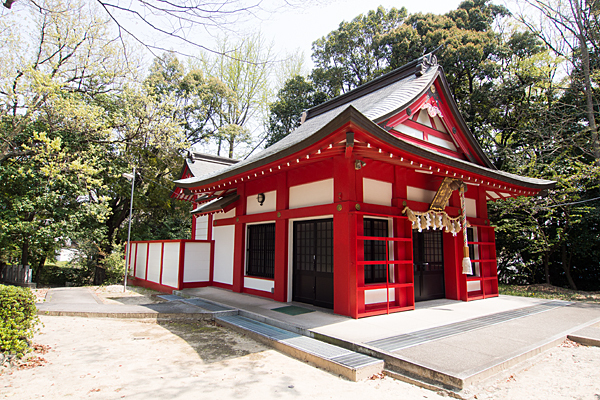 桜田八幡社拝殿