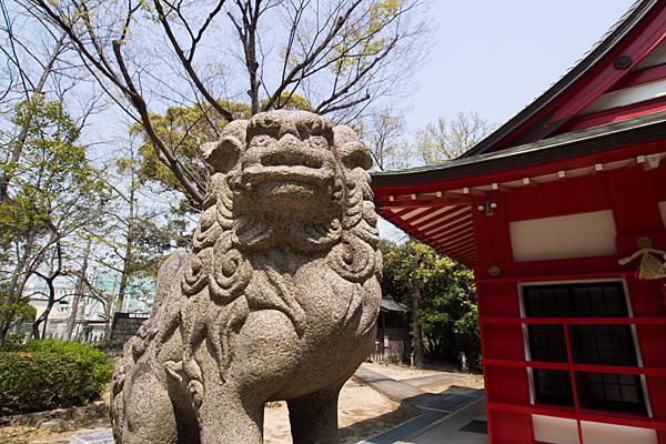 桜田八幡社狛犬