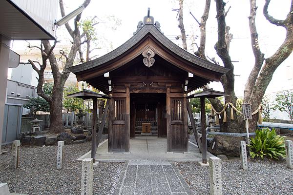 古傳馬神社拝殿
