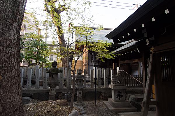 古傳馬神社本殿