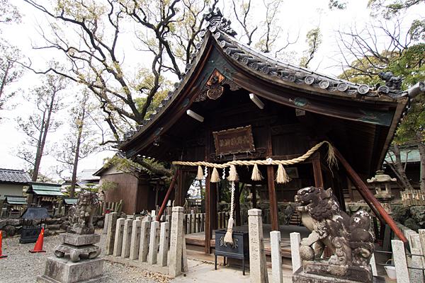 大乃伎神社拝殿