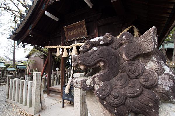大乃伎神社狛犬