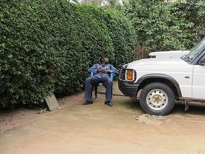 security sleeping