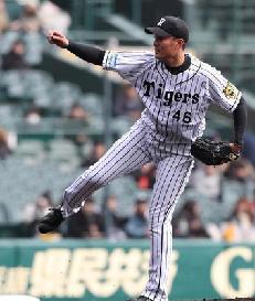 【阪神】秋山拓巳、5回1失点で開幕ローテ入りへ前進 金本監督「近づいた」