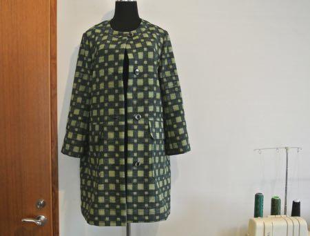 紬のコート-1