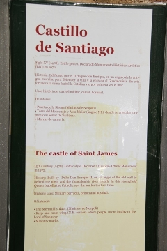 2813 Castillo de Santiago