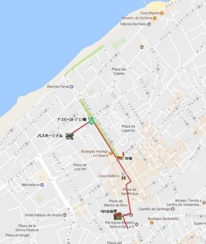mapa de サンルーカル 01