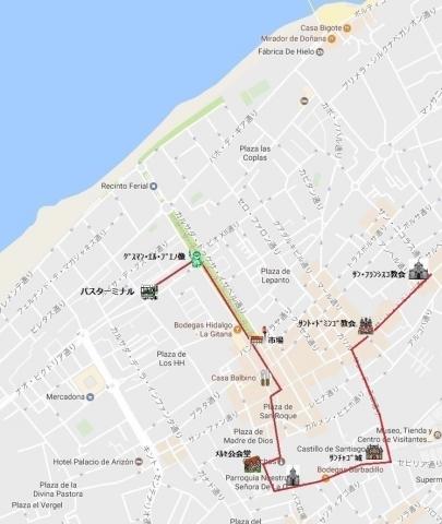 mapa de サンルーカル 04