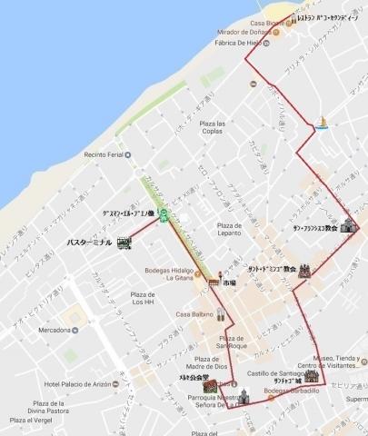 mapa de サンルーカル 05