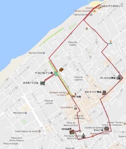 mapa de サンルーカル 06