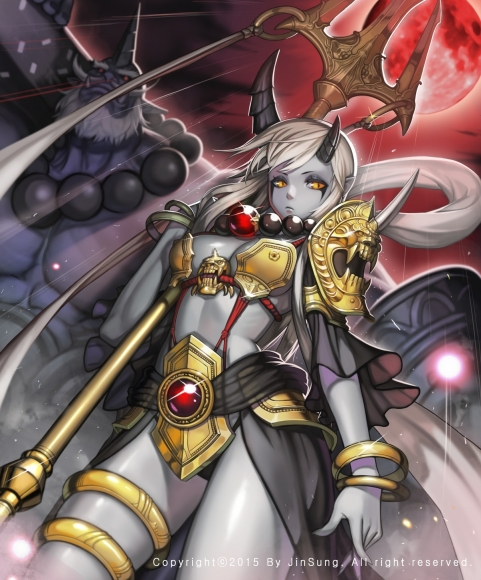 yande_re2038507820sample20bikini_armor20horns20kim_jin_sung20weapon.jpg