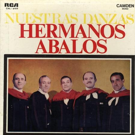 Hermanos Abalos RCA Nuestras danzas RCA Camden 3LPS 566