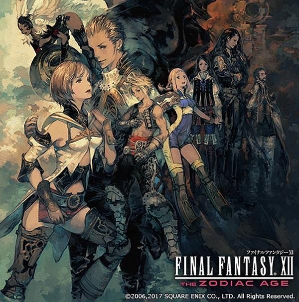 PS4 FF12 ファイナルファンタジー12 FFⅫ 7月発売予定