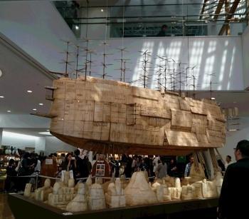 巨大な船 350