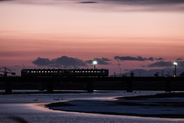 電車とおる