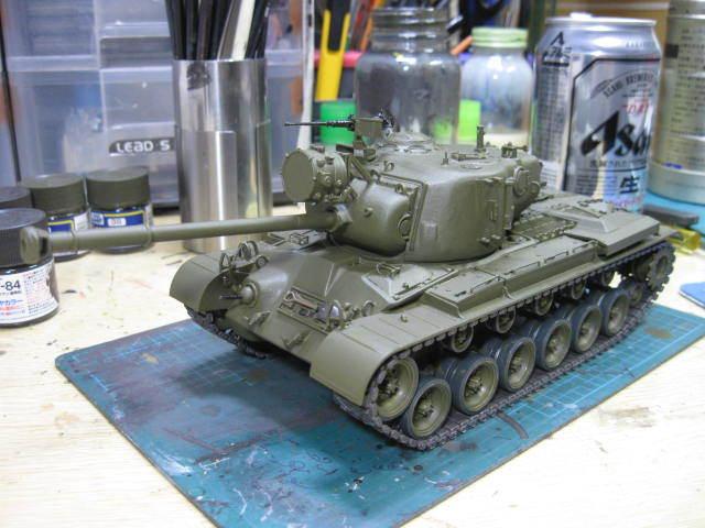 M46 塗装の2