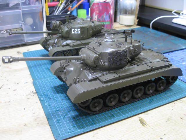 M26 タミヤ 塗装の2