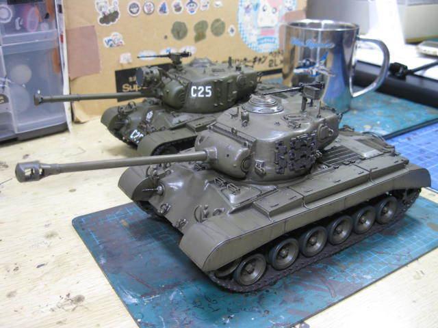 M26 タミヤ 塗装の3