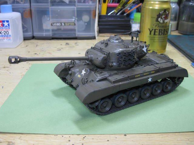 M26 完成 タミヤの1