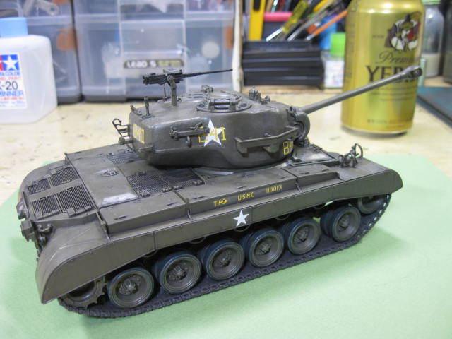 M26 完成 タミヤの2